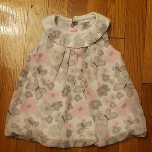Butterfly flower blouse